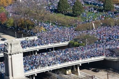 Cubs' Rally 11/4/16
